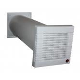 Приточная вентиляция с подогревом Аэро-100 (монтаж по Киеву)
