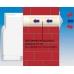 Приточно-вытяжная вентиляция с рекуператором и подогревом O'ERRE Tempero 100 PH