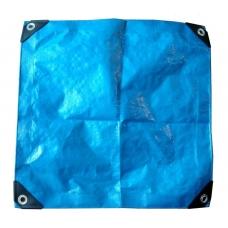 """Тент тарпаулин 4х6 м, армированный полипропиленовый """"Welltex"""", плотность 90 грамм/кв.м"""